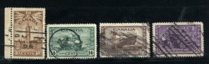 C 257,259-261  used  1942-43 PD