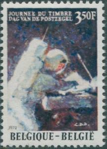 Belgium 1972 SG2270 3f.50 Stamp Day astronaut MNH