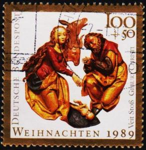 Germany. 1989 100pf+50pf  S.G.2295 Fine Used