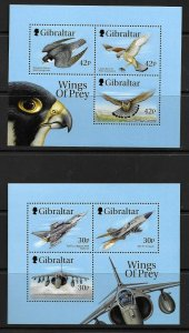 1999    GIBRALTAR  -  SG.  MS 889  -  BIRDS OF PREY (Issue 1)  -  MNH