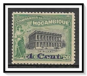 Mozambique Company #151 Court House Surcharged NG