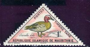 Mauritania 1963: Sc. # J29; *-/MHH Single Stamp