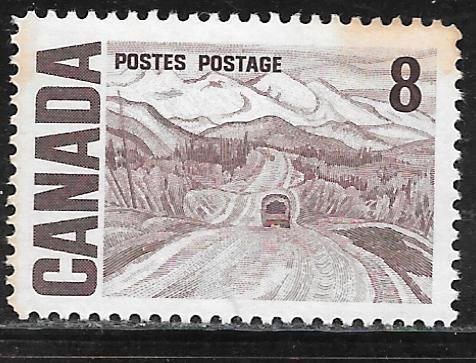Canada 461: 8c Alaska highway, MNH, VF
