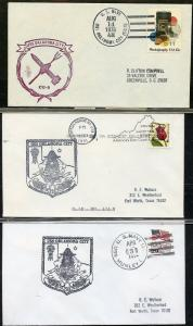 UNITED STATES USS OKLAHOMA CITY LOT OF 7 ALL DIFFERENT COVERS 1978-1992 (27)