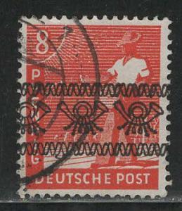 Germany AM Post Scott # 602, used