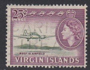 VIRGIN ISLANDS, Scott 154, used