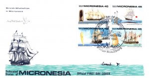 Micronesia, Worldwide First Day Cover, Ships