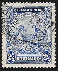 Barbados SC 170a * Seal of the Colony * Used * 1932