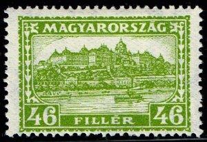 HUNGARY STAMP 1929 Royal Palace, Budapest 46F MH/OG