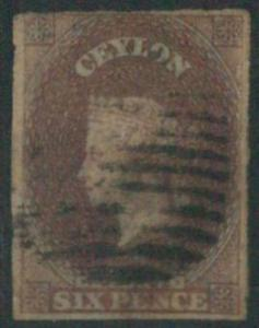 70355a - CEYLON - STAMPS: Stanley Gibbons #  1 - Finely Used