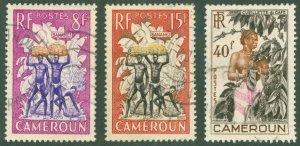 CAMEROUN 323-25 USED BIN$ 1.25