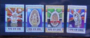 Papua New Guinea 1990 Gogodala Dance Masks set Used