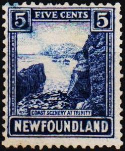 Newfoundland. 1923 5c  S.G.153 Fine Used