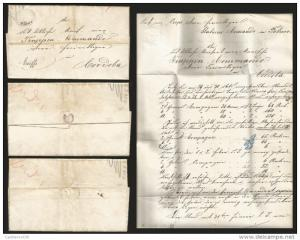 J) 1864 MEXICO, FRENCH INTERVENTION MAXIMILIAN, AUSTRIAN TROOPS IN MEXICO, PARTI