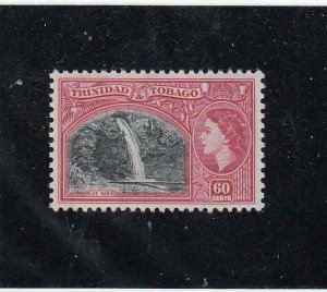 TRINIDAD & TOBAGO (MK6852) # 81 VF-MVLH 60c QEII /TYPE OF 1938 /ROSE-CARM CV $25