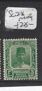 MALAYA TRENGGANU (P0211B)  SULTAN  3C  SG  28   MOG