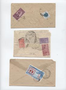 Three Nepal covers including officials [L.215]