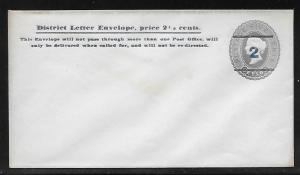 Ceylon Postal Stationery Envelope H&G 28 Mint