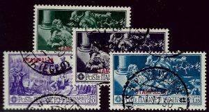 Italy Stampalia SC#12-15 Aegean Islands Used F-VF SCV$40.00...Wild & Grandioso!!