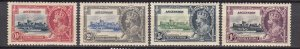 J26662 1935 ascension set mh #33-6 silver jubilee