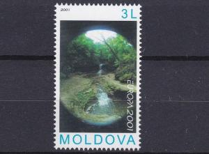 MOLDOVA     2001  EUROPA  WATER  RESOURCES      MNH