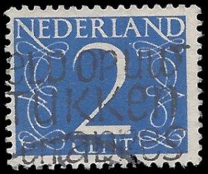 Netherlands #283 1946 Used