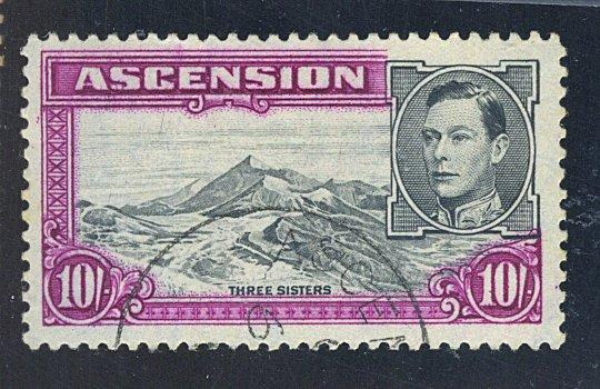 Ascension #49 Used F-VF Cat$52.50