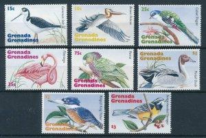 [108788] Grenada Grenadines 1995 Birds Flamingo Seagul Duck Parrot  MNH