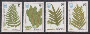 Tuvalu 438-41 Ferns mnh