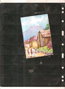 Mexico 5 old cowers+1 postcard