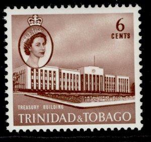 TRINIDAD & TOBAGO QEII SG287a, 6c pale chestnut, NH MINT.