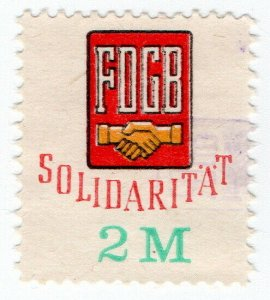 (I.B) East Germany Revenue : FDGB Union Dues 2M (Solidarity)