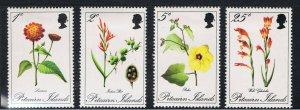 PITCAIRN ISLANDS 1970 FLOWERS