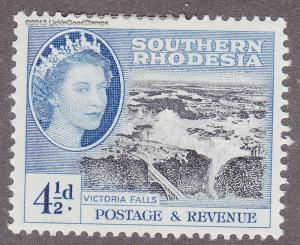 Southern Rhodesia 86 Victoria Falls 1953