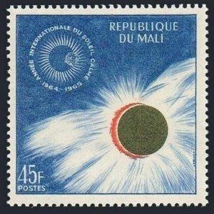 Mali 65,MNH.Michel 90. Quiet Sun Year IQSY-1964.