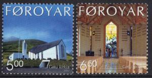 Faroe Islands 2002 MNH  Gota church