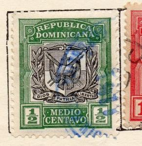 Dominican Republic 1906 Early Issue Fine Used 1/2c. 121922