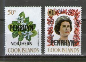 Penrhyn Island 44-45 MNH