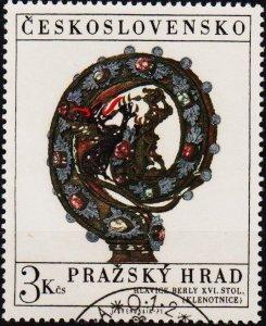 Czechoslovakia. 1971 3k S.G.1960 Fine Used
