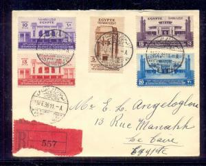 EGYPT- 1936 The 15th Agricultural & industrial Exhibition traveled Locally