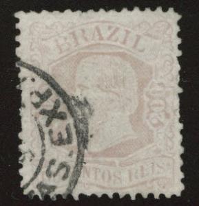Brazil Scott 85 Used 1882 stamp