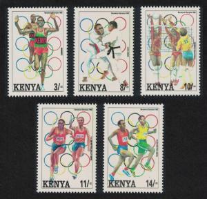 Kenya Volleyball Judo Olympic Games Barcelona 2nd issue 5v SG#580-584