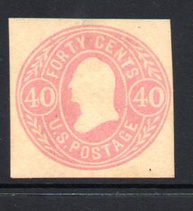 U73 Mint Just Fine CV $120