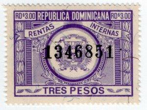 (I.B) Dominican Republic Revenue : Internal Tax $3