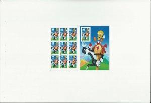 US Stamps Sheet/Postage Sct #3205 Sylvester & Tweety ERROR MNH F-VF OG  FV$3.20