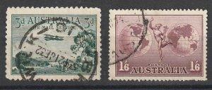 C1,C4 Australia Used Air Mail