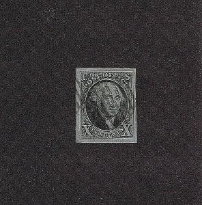 SC#2 USED 10 CENT WASHINGTON 1847, 2019 PSAG CERT GRADED XF-SUP 95, HIGH CAT VAL