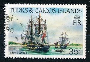 Turks & Caicos Islands #585a Single Used