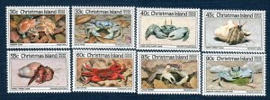 Christmas Island 162-72 8 MNH Values (SCV $12.20)