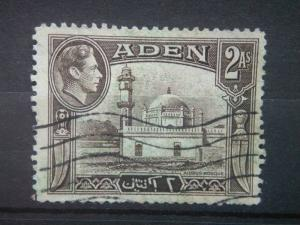 ADEN, 1946, used 2a, Aden Harbor. Scott 20